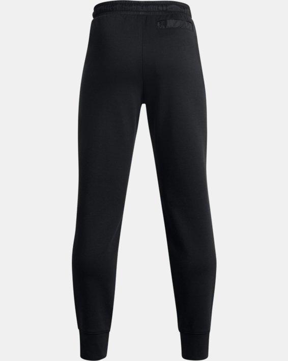 Boys' UA Summit Knit Pants, Black, pdpMainDesktop image number 1