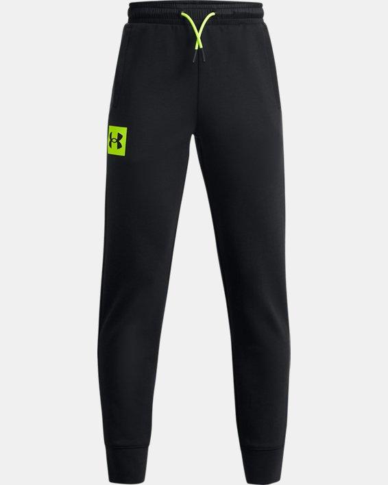 Boys' UA Summit Knit Pants, Black, pdpMainDesktop image number 0