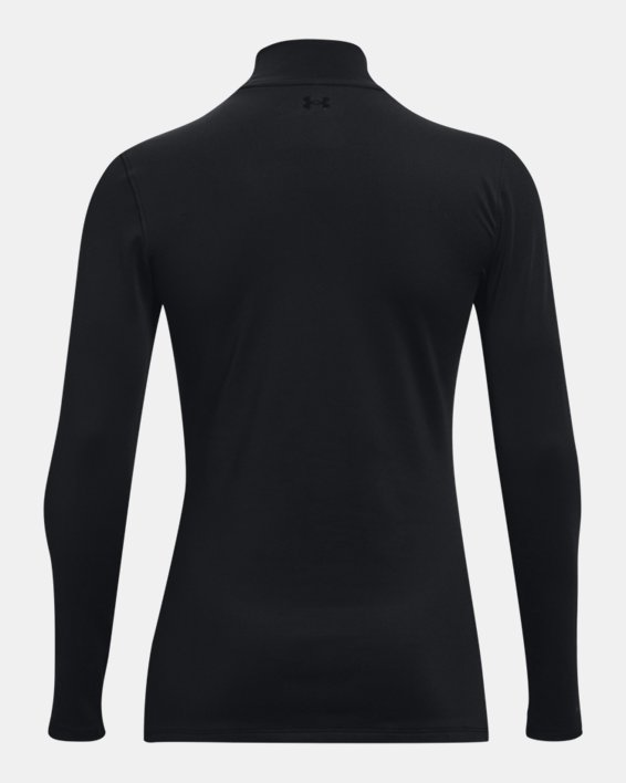 Camiseta de golf de manga larga ColdGear® Infrared Storm para mujer, Black, pdpMainDesktop image number 7