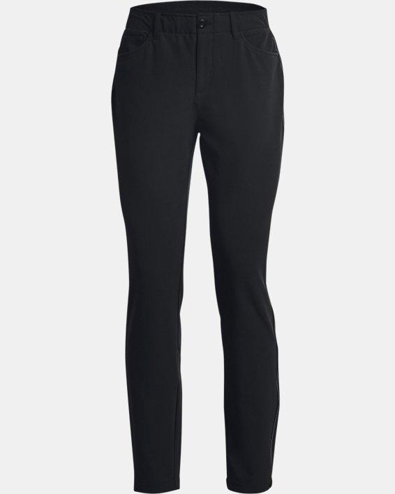 Women's UA Links ColdGear® Infrared 5-Pocket Pants, Black, pdpMainDesktop image number 7