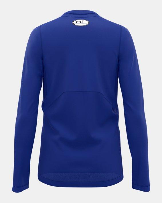 Boys' ColdGear® Armour Long Sleeve, Blue, pdpMainDesktop image number 2