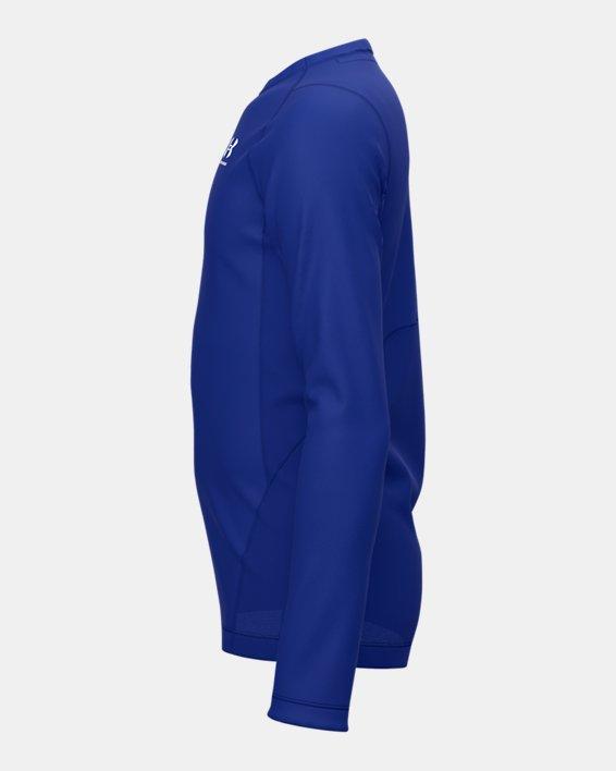 Boys' ColdGear® Armour Long Sleeve, Blue, pdpMainDesktop image number 4