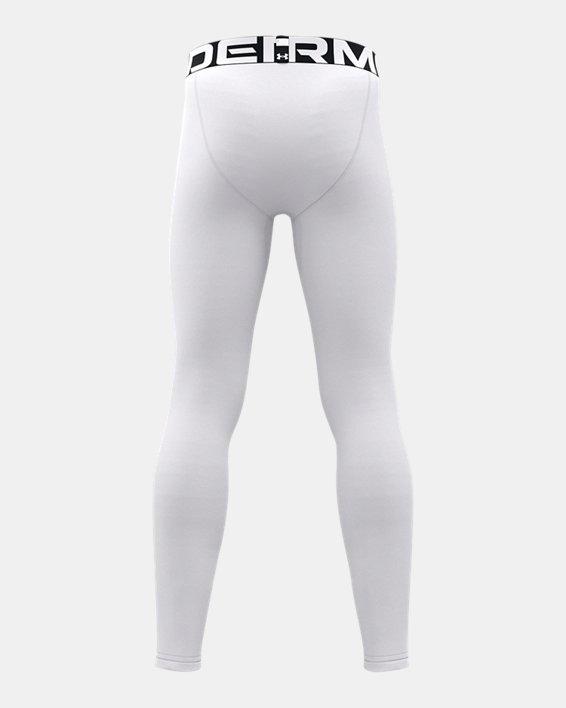 Jongenslegging ColdGear® Armour, White, pdpMainDesktop image number 2
