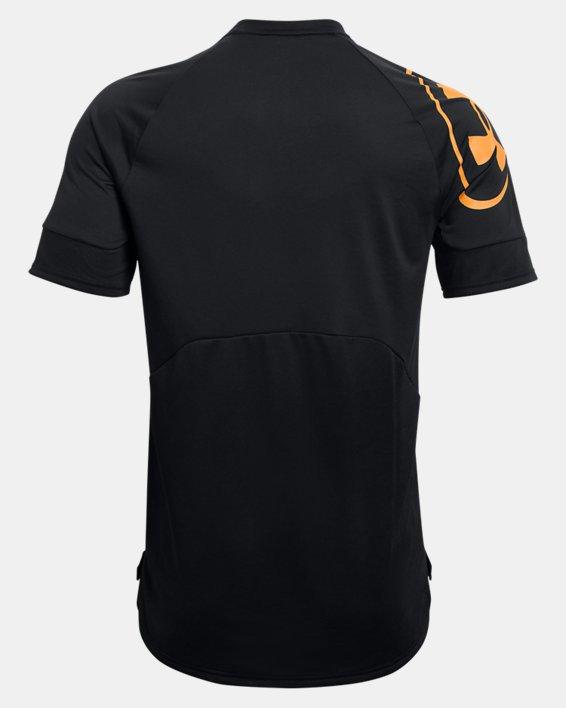 Men's UA Evolution Training Short Sleeve, Black, pdpMainDesktop image number 5