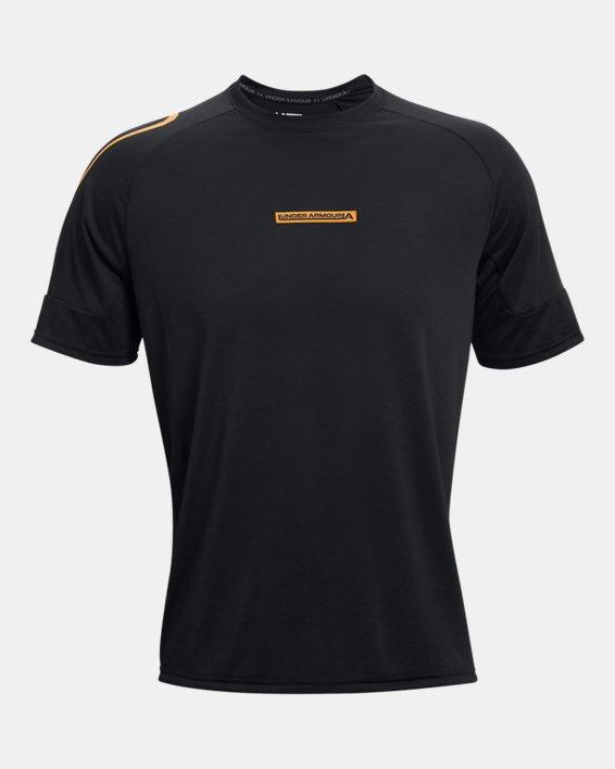 Men's UA Evolution Training Short Sleeve, Black, pdpMainDesktop image number 4