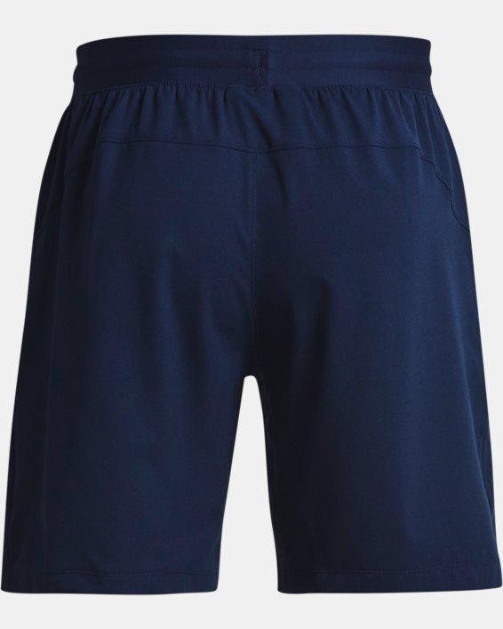 Men's UA Evolution Train Shorts, Navy, pdpMainDesktop image number 6