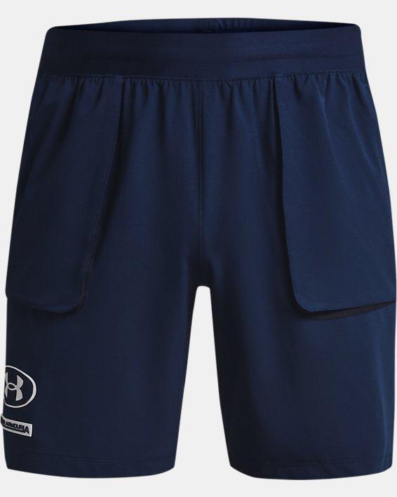 Men's UA Evolution Train Shorts, Navy, pdpMainDesktop image number 5