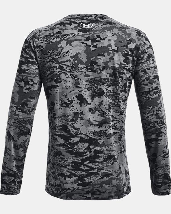 Men's UA ABC Camo Long Sleeve, Black, pdpMainDesktop image number 4