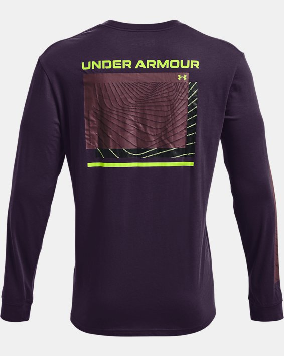 Men's UA 21230 Swerve Long Sleeve, Purple, pdpMainDesktop image number 5