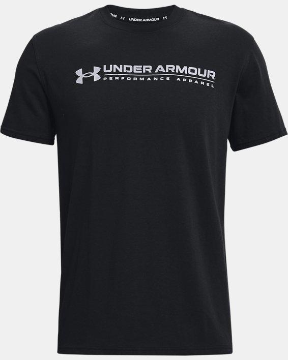 Men's UA Signature Vortex Heavyweight Short Sleeve, Black, pdpMainDesktop image number 2