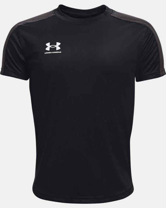 Youth UA Challenger Training T-Shirt, Black, pdpMainDesktop image number 0