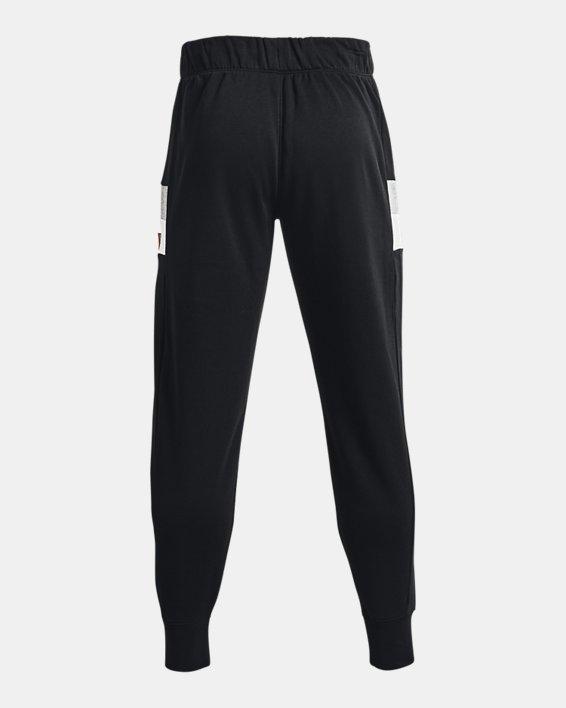Men's UA Baseline Fleece Joggers, Black, pdpMainDesktop image number 5