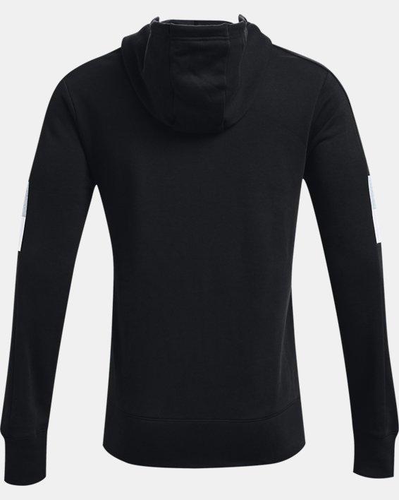 Men's UA Baseline Full-Zip, Black, pdpMainDesktop image number 4
