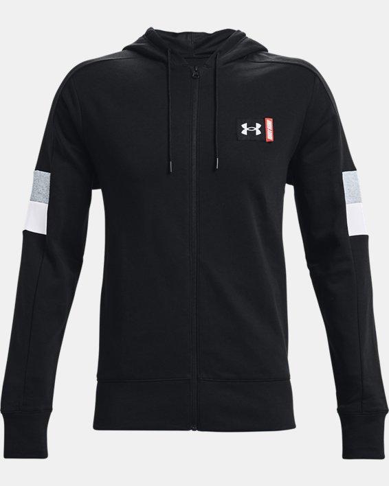 Men's UA Baseline Full-Zip, Black, pdpMainDesktop image number 3