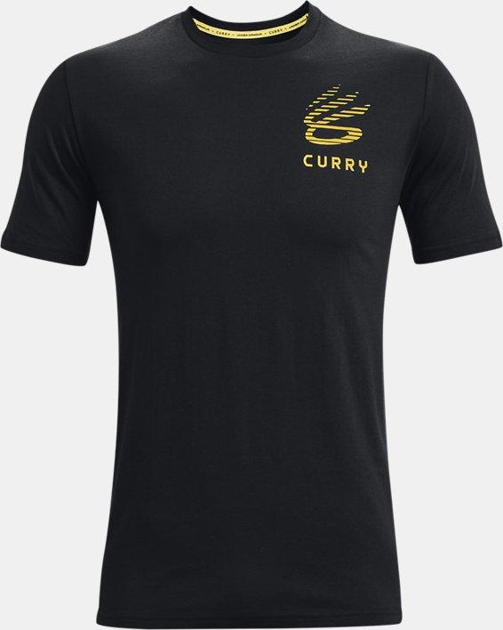 Men's Curry XL T-Shirt, Black, pdpMainDesktop image number 0