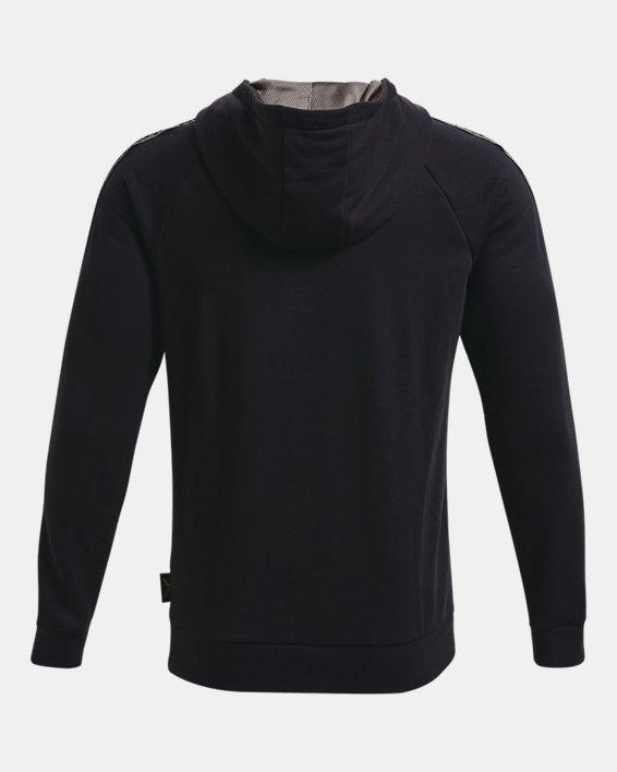 Men's Curry Fleece Hoodie, Black, pdpMainDesktop image number 1