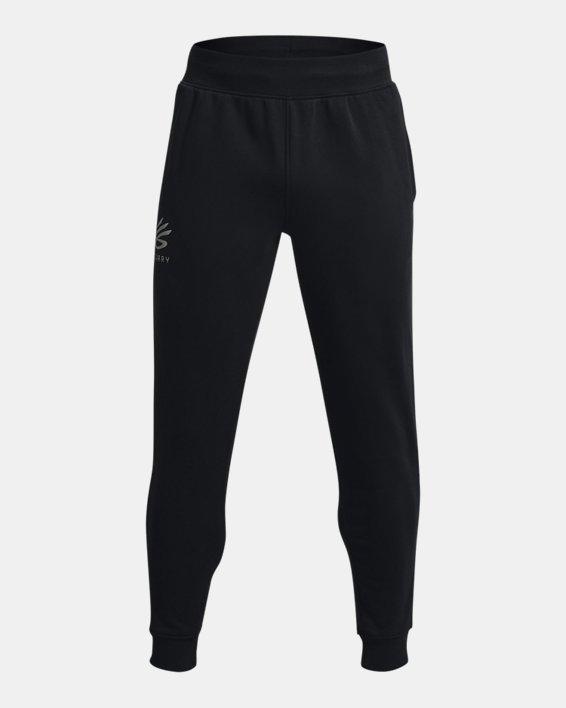 Men's Curry Fleece Joggers, Black, pdpMainDesktop image number 0