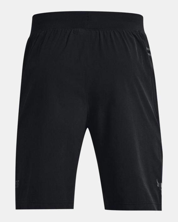 Men's Project Rock Unstoppable Shorts, Black, pdpMainDesktop image number 6