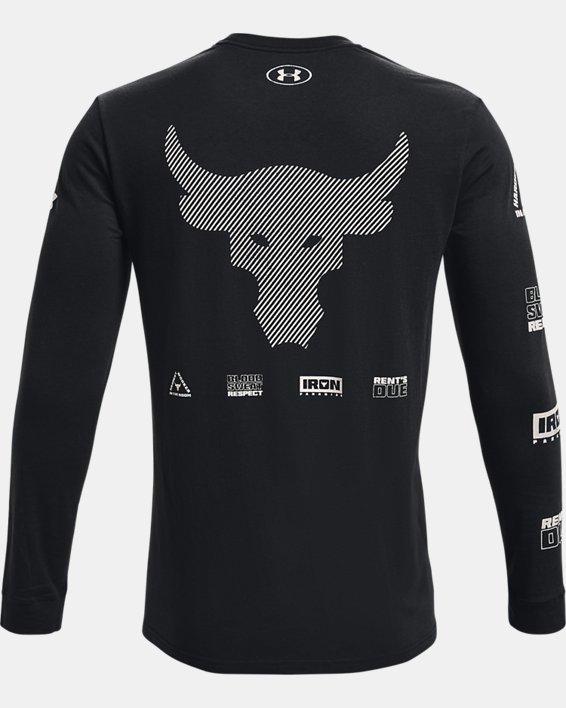 Herren Project Rock Brahma Bull Langarm-Oberteil, Black, pdpMainDesktop image number 4