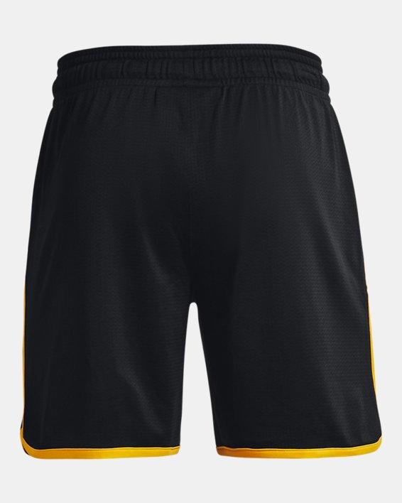 Men's Project Rock Colorblock Knit Shorts, Black, pdpMainDesktop image number 5