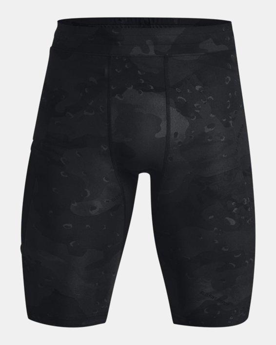 Men's Project Rock Camo Compression Shorts, Black, pdpMainDesktop image number 4