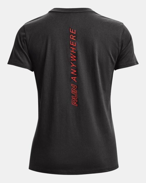 Women's UA Run Anywhere Short Sleeve, Gray, pdpMainDesktop image number 5