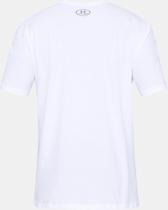 Men's UA Through This Together Short Sleeve, White, pdpMainDesktop image number 3