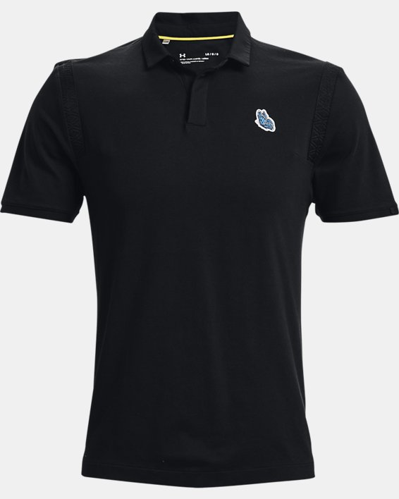 Men's Curry Icon Polo, Black, pdpMainDesktop image number 5