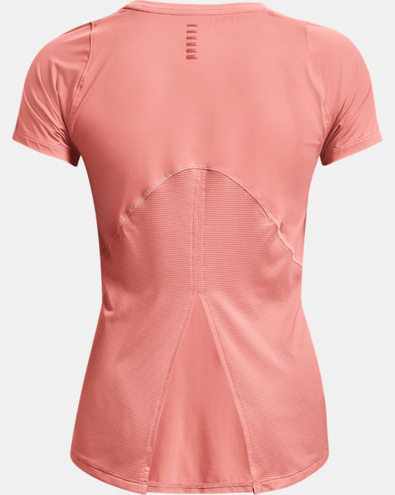 Camiseta de manga corta UA Iso-Chill Run para mujer, Pink, pdpMainDesktop image number 4