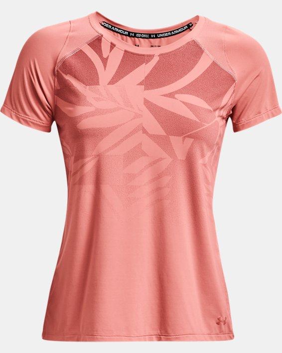 Camiseta de manga corta UA Iso-Chill Run para mujer, Pink, pdpMainDesktop image number 3
