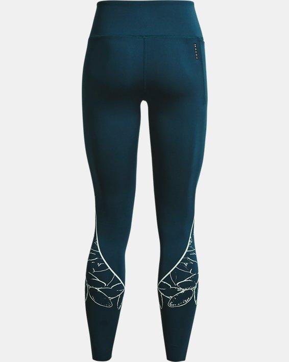 Women's UA SmartForm RUSH™ Custom Length Leggings, Blue, pdpMainDesktop image number 7