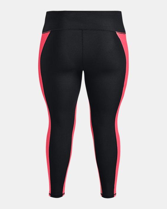 Women's HeatGear® Armour No-Slip Waistband Panel Ankle Leggings, Black, pdpMainDesktop image number 5