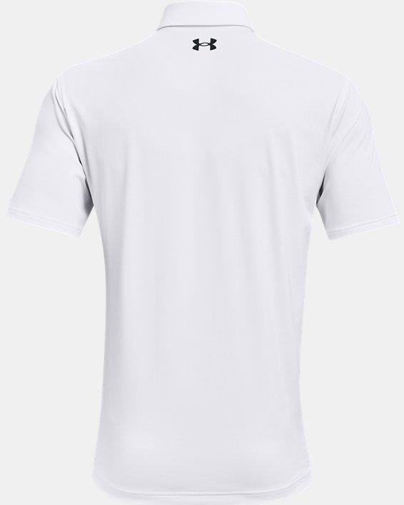 Men's UA T2G Polo, White, pdpMainDesktop image number 5