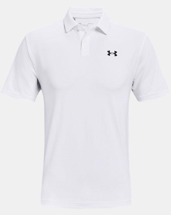 Men's UA T2G Polo, White, pdpMainDesktop image number 4