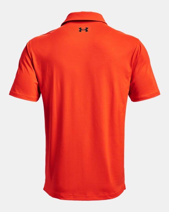 Men's UA T2G Polo, Orange, pdpMainDesktop image number 5