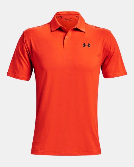 Men's UA T2G Polo, Orange, pdpMainDesktop image number 4