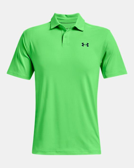 Men's UA T2G Polo, Green, pdpMainDesktop image number 4