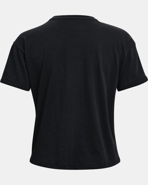 Women's UA Glow Graphic T-Shirt, Black, pdpMainDesktop image number 5
