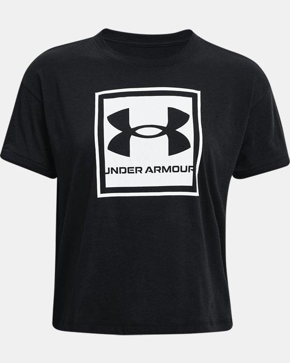 Women's UA Glow Graphic T-Shirt, Black, pdpMainDesktop image number 4