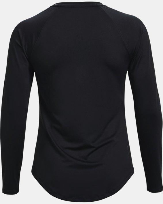 Women's UA RUSH™ Long Sleeve, Black, pdpMainDesktop image number 5