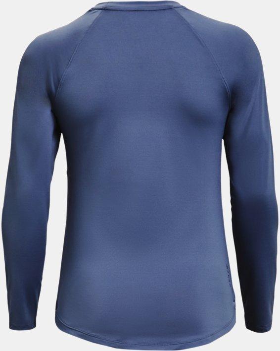 Women's UA RUSH™ Long Sleeve, Blue, pdpMainDesktop image number 5