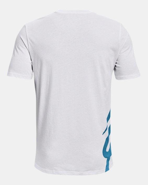 Men's Curry Ultra Splash T-Shirt, White, pdpMainDesktop image number 1