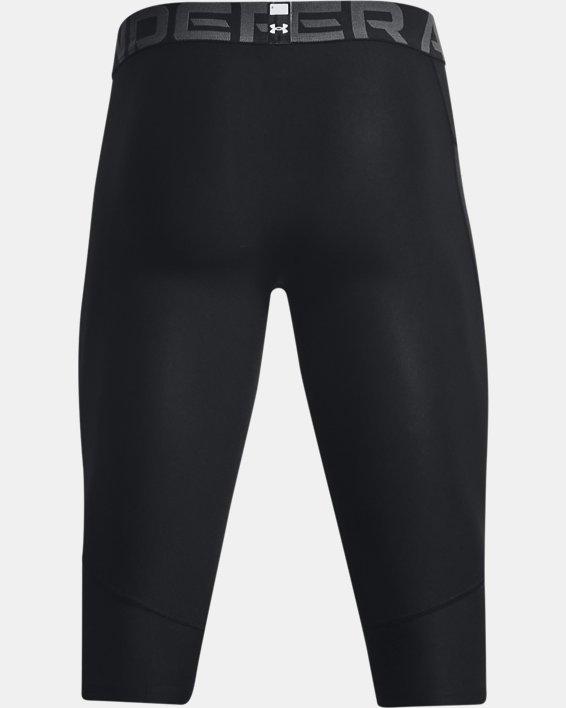 Men's HeatGear® Compression Knee Tights, Black, pdpMainDesktop image number 5