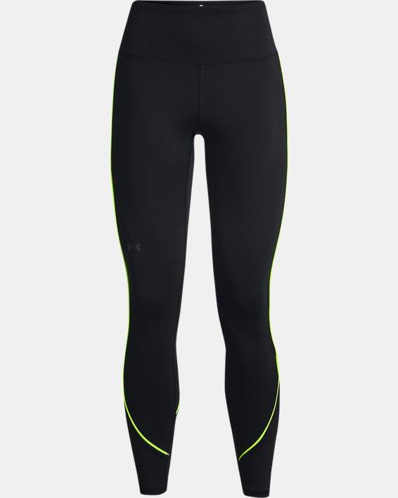 Women's UA RUSH™ HeatGear® No-Slip Waistband Mesh Pocket Full-Length Leggings, Black, pdpMainDesktop image number 5