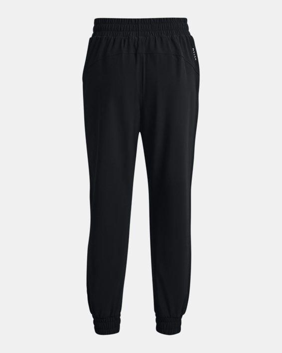 Women's UA RUSH™ Woven Pants, Black, pdpMainDesktop image number 5