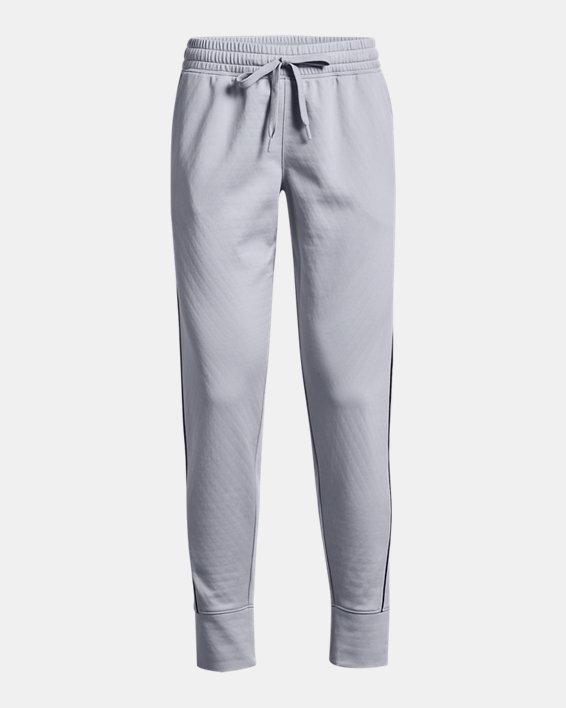 Women's UA RUSH™ Tricot Pants, Gray, pdpMainDesktop image number 4