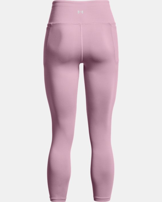 Women's UA Meridian Ankle Leggings, Pink, pdpMainDesktop image number 6