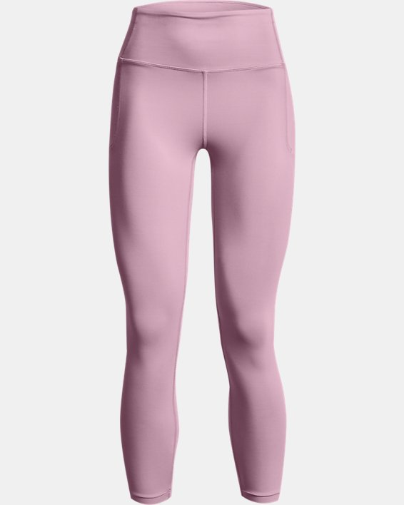 Women's UA Meridian Ankle Leggings, Pink, pdpMainDesktop image number 5