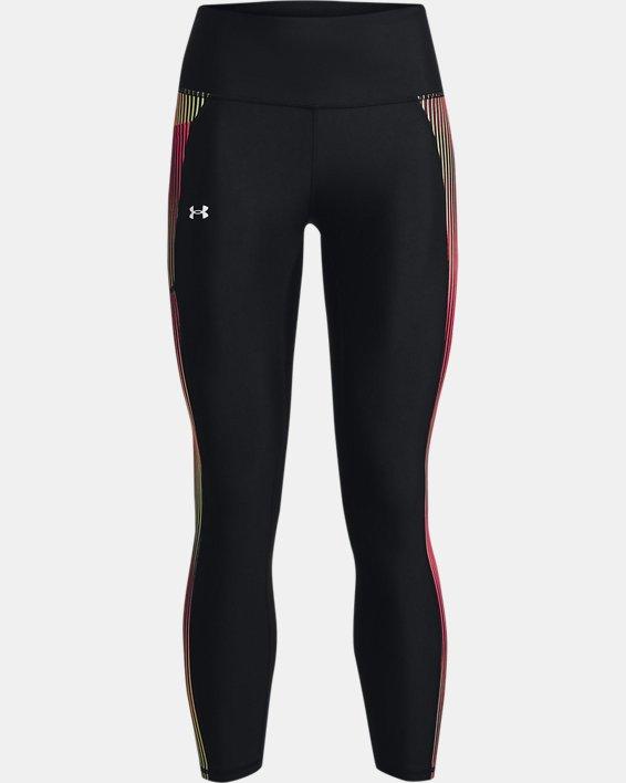 Damen HeatGear® Armour Panel Ankle-Leggings, Black, pdpMainDesktop image number 3