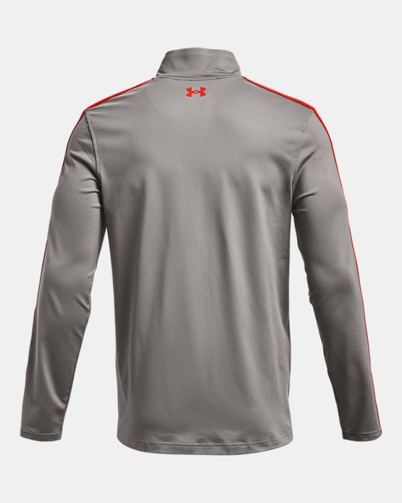 Men's UA Storm Midlayer Full-Zip Golf Jacket, Gray, pdpMainDesktop image number 6